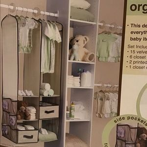 NEW Nursery Organizer Set